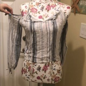 Tops - Aeropostale off the shoulder top size xs